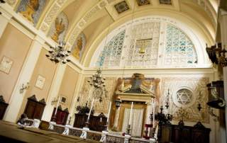 Verona - Sinagoga, interno